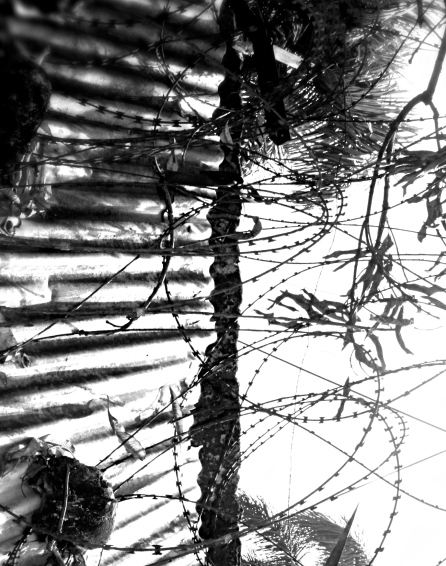 The boundaries between you and not-you, photograph, Monrovia, Liberia, Africa